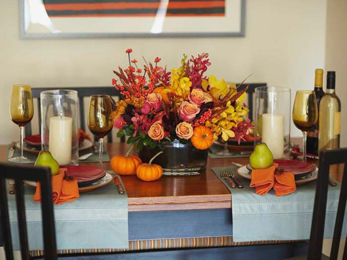 HOME DECOR: BEST DECORATION IDEAS FOR THANKSGIVING HOME DECOR: BEST DECORATION IDEAS FOR THANKSGIVING Colores de contraste decoracion de interiores