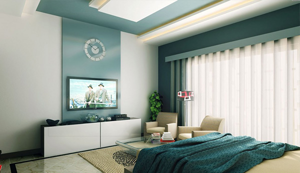 Aqua tones bedroom BEST INTERIOR's COLOR TRENDS FOR SUMMER: AQUA BEST INTERIOR's COLOR TRENDS FOR SUMMER: AQUA 1 aqua bedroom 2