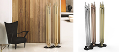 Brubeck Floor Lamp by Deligtfull GOLDEN TREASURE 2013: BRUBECK Floor Lamp GOLDEN TREASURE 2013: BRUBECK Floor Lamp delightfull brubeck floor lamp
