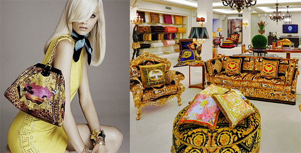 Fashion Designers Home Collections - Versace FASHION DESIGNERS DRESS A HOME: FROM THE RUNAWAY TO HOME FASHION DESIGNERS DRESS A HOME: FROM THE RUNAWAY TO HOME image1