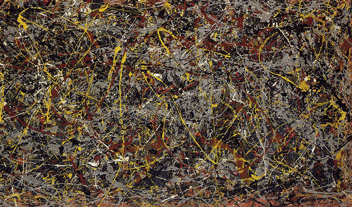 Number 5 by Jackson Pollock, 1948 most expensive paintings ever THE 10 MOST EXPENSIVE PAINTINGS EVER SOLD Pollock no 5  Home Pollock no 5