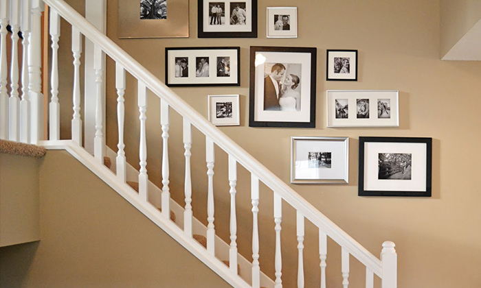 HOW TO: CREATE A GALLERY WALL IN STAIRWELLS HOW TO: CREATE A GALLERY WALL IN STAIRWELLS 41