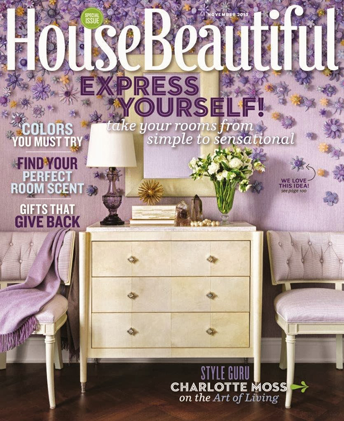 House Beautiful magazine top 10 interior design magazines in the usa TOP 10 Interior Design Magazines in the USA House Beautiful November