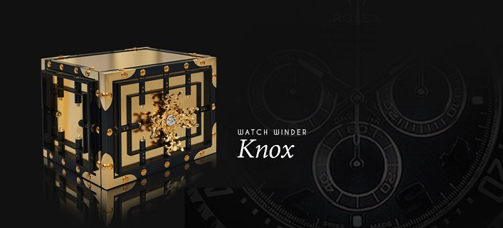 Luxury Home Furnishing: Boca do Lobo's Knox Safe Luxury Home Furnishing: Boca do Lobo's Knox Safe Knox Watch Winder Slider 01