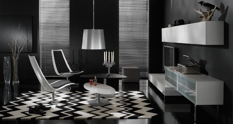 Decoration Ideas with black furniture Decoration Ideas with black furniture Decoration Ideas with black furniture perfect black and white interior design living room with dark living room interior design with black painted wall and white