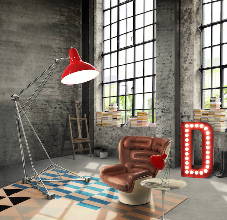 delightfull_diana-floor-giant-colorful-loft-studio-brass-vintage-lamp-01 vintage industrial style ideas Vintage Industrial Style Ideas for a living room delightfull diana floor giant colorful loft studio brass vintage lamp 01