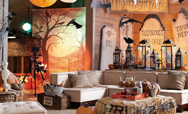 halloween ideas The Best Halloween Ideas for your Living Room fantastic halloween decoration for living room e1477648432693