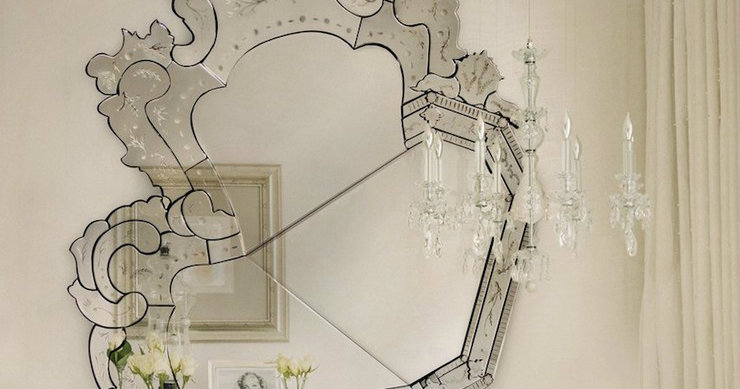mirrors oversized mirrors The opulence of oversized mirrors 0 venetian mirror Boca do lobol