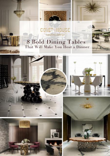 8 Bold Dining Tables That Will Make You Host a Dinner 934192fda25d963cca9c15e03e9f8a4e 1
