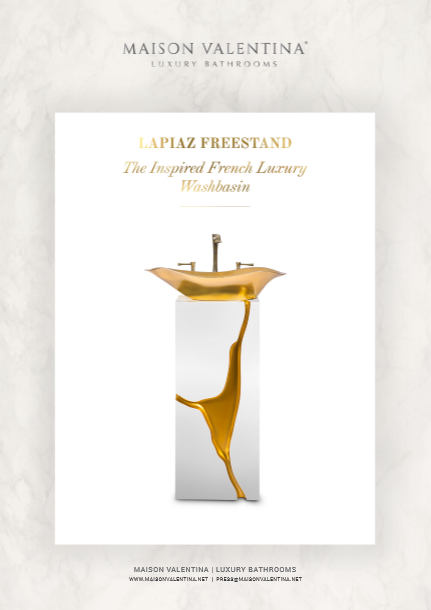 Lapiaz Freestand: The luxury french Luxury Washbasin Lapiaz