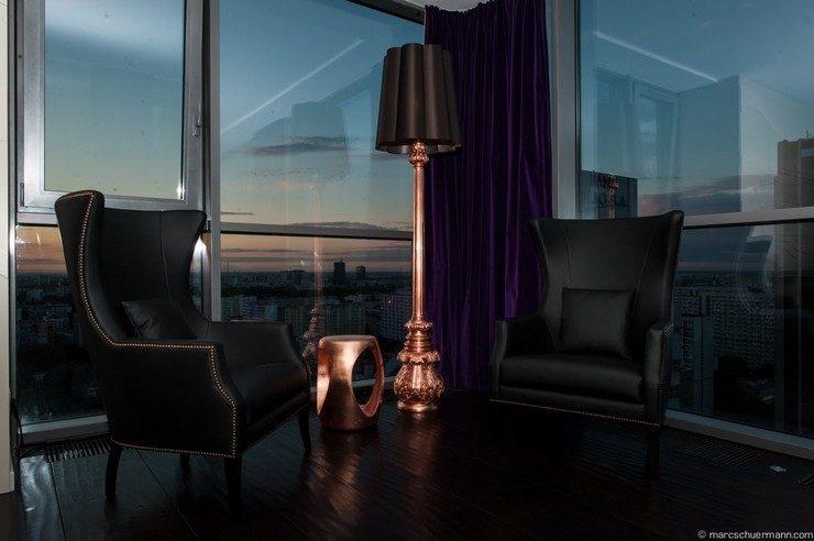copper and black Copper and Black Inspiring Interior Design Ideas 20 black copper 740x492