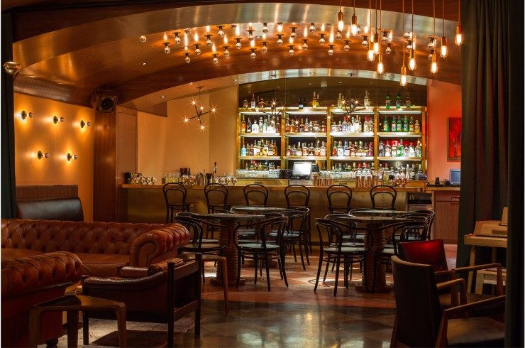 The Joule, Dallas hospitality The Best of Forrest Perkins Hospitality Projects The Joule Hotel Dallas TX Bar 2 740x490