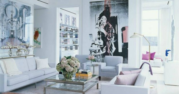 Fashion Designers, interior design, home decor ideas; home interiors; decoration pieces, home decor inspiration; home decorating; interior decoration; Fashion Designers Peek inside the homes of Fashion Designers feature 1