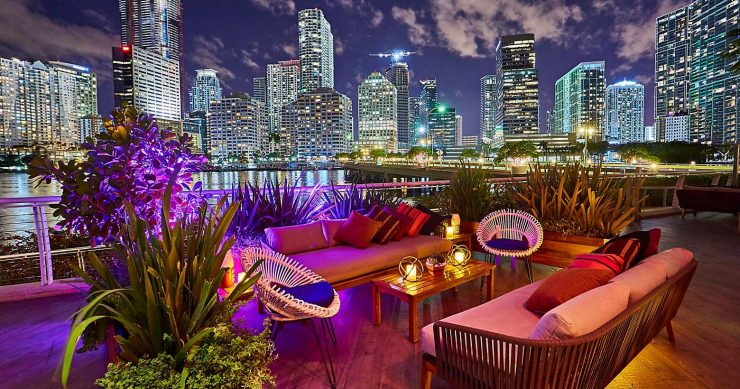Mandarin Oriental florida design guide 2018 Florida Design Guide miami fine dining yaku by la mar patio 740x389