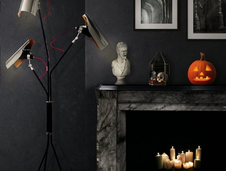 Spooktacular Halloween Home Decor Ideas for 2017 Spooktacular Halloween Home Decor Ideas for 2017 mantel 1 740x560
