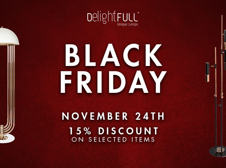 Black Friday 2017: Crazy Discouts on DelightFULL´s Collection Black Friday 2017: Crazy Discouts on DelightFULL´s Collection black friday delightfull unique lamps 740x550