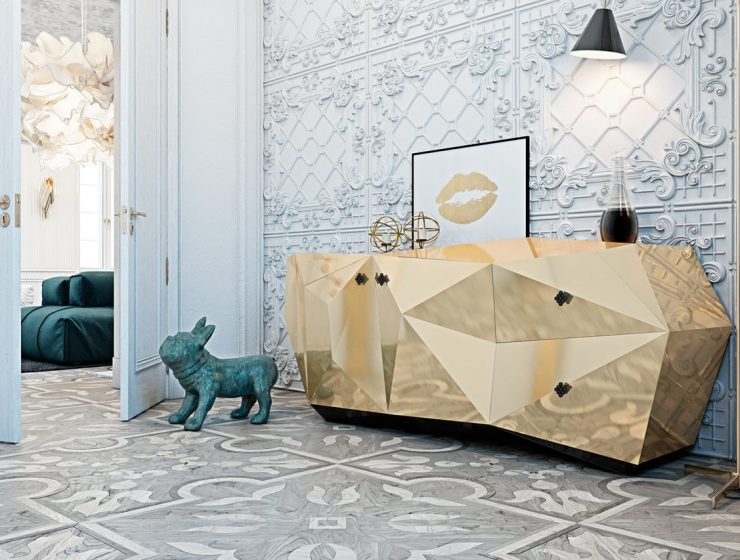 luxury design Discover Luxury Design Projects that Unite Excellence and Exclusivity 1 diamond emerald gold boca do lobo architecture design project modern living room ideas 740x560