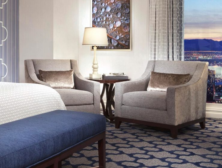 the best in lodging The best in lodging: Meet MGM Resorts! bellagio hotel resort room king sapphire 740x560