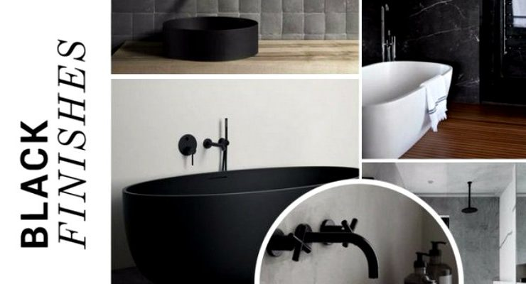 black bathroom designs Black Bathroom Designs Are The Hottest On Social Media! Black Bathroom Designs Are The Hottest On Social Media capa 740x400