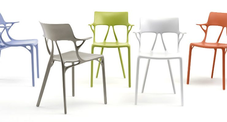 kartell Kartell and Philippe Starck Created The First A.I. Chair Design Kartell and Philippe Starck Created The First AI Chair Design capa 740x400