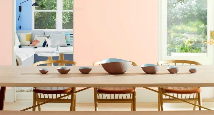 Decorate With Benjamin Moore's Color Of The Year For 2020