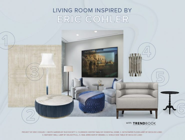 eric cohler Be Inspired By Eric Cohler's Living Room Moodboard Be Inspired By Eric Cohlers Living Room Moodboard 740x560