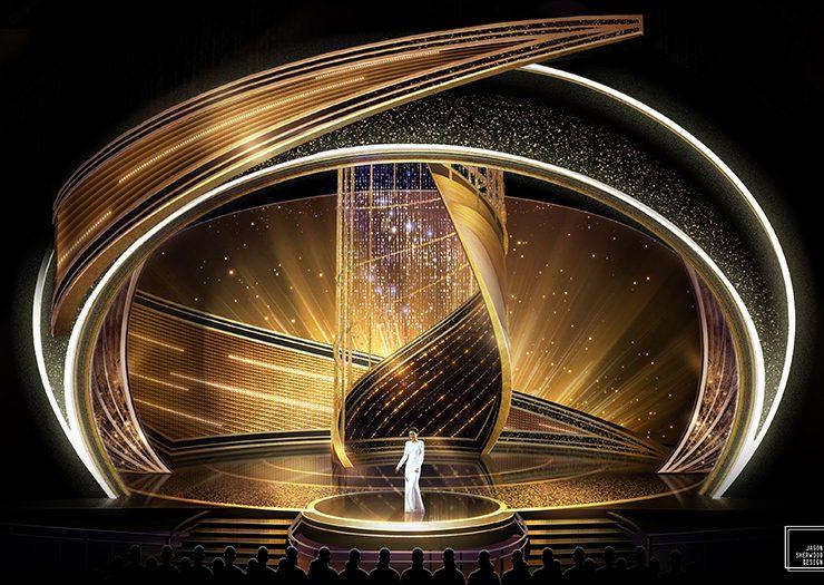 oscars 2020 Oscars 2020: Rolex Green Room & Swarovski-Embellished Stage Oscars 2020 Rolex Green Room Swarovski Embellished Stage 3 740x525