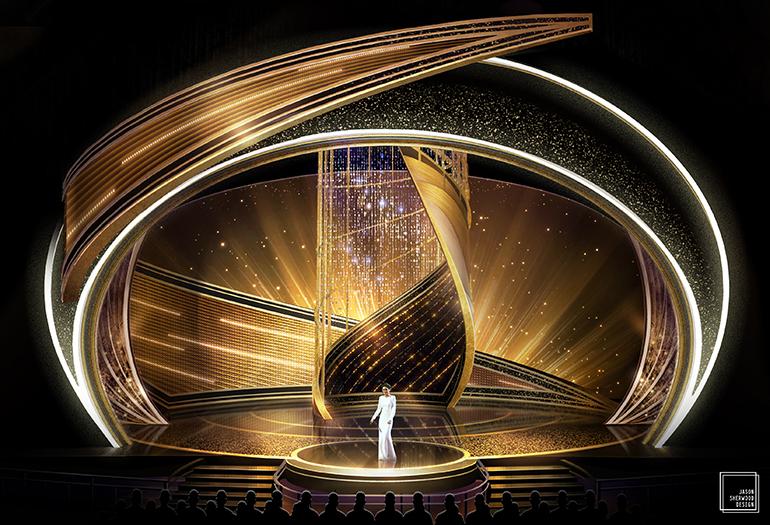 oscars 2020 Oscars 2020: Rolex Green Room & Swarovski-Embellished Stage Oscars 2020 Rolex Green Room Swarovski Embellished Stage 3