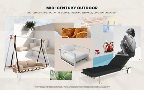 mid-century outdoor furniture Get Your Home Summer Ready With New Mid-Century Outdoor Furniture Get Your Home Summer Ready With New Mid Century Outdoor Furniture 480x300