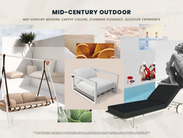 mid-century outdoor furniture Get Your Home Summer Ready With New Mid-Century Outdoor Furniture Get Your Home Summer Ready With New Mid Century Outdoor Furniture 740x560