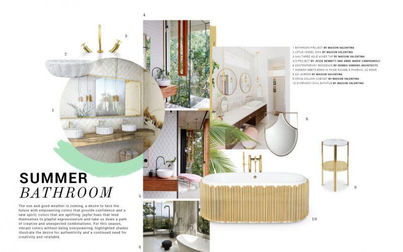 luxury bathroom trends Luxury Bathroom Trends: Prepare For Summer Decor! Luxury Bathroom Trends Prepare For Summer Decor scaled e1586180231266