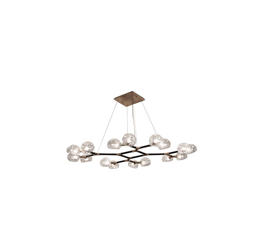 modern luxury house Be Inspired By This Modern Luxury House Design horus suspension light 2 1