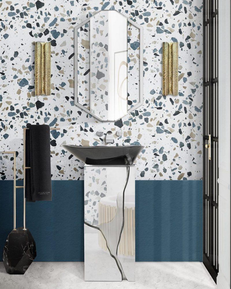 terrazzo bathrooms Terrazzo Bathrooms To Improve All Interior Design Lovers Terrazo Bathrooms To Improve All Interior Design Lovers1 e1604508881960