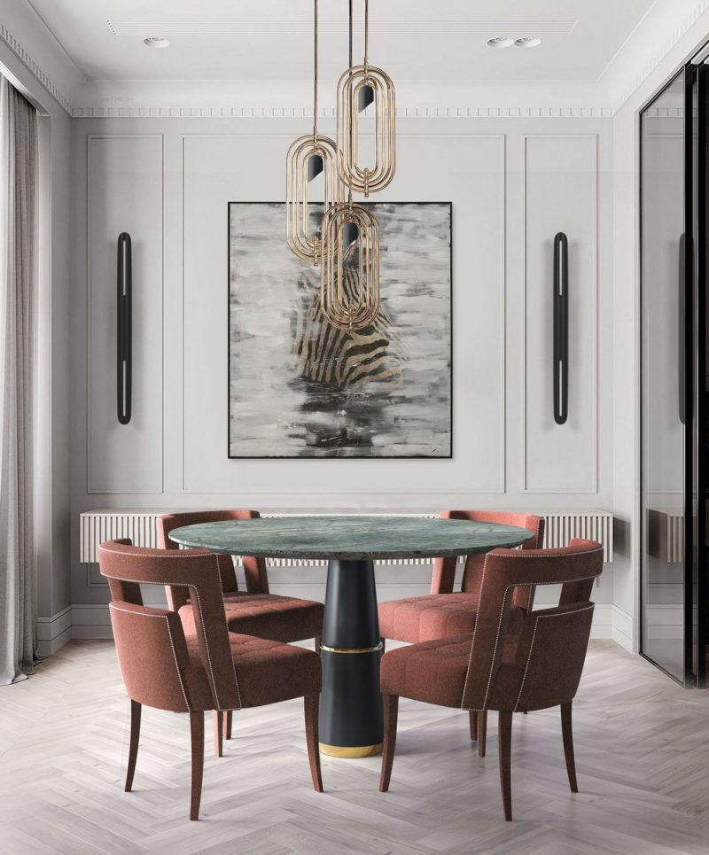 dining room Your Dining Room Won't Be The Same After These Transformational Pieces! Your Dining Room Wont Be The Same After These Transformational Pieces10 e1605111962267