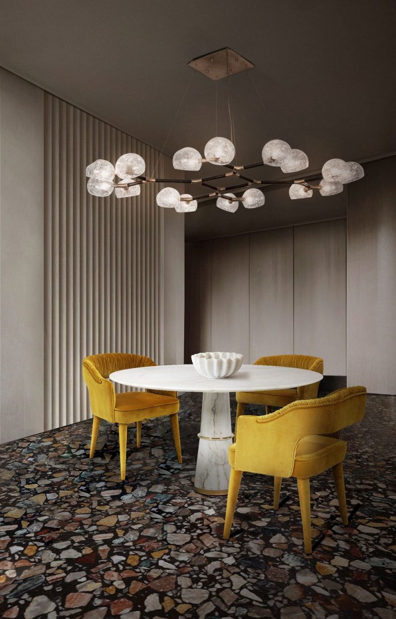 dining room Your Dining Room Won't Be The Same After These Transformational Pieces! Your Dining Room Wont Be The Same After These Transformational Pieces8 e1605111799103