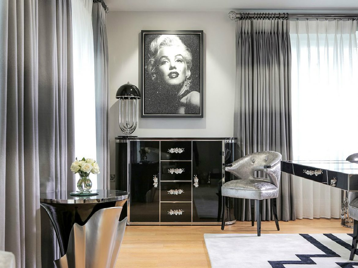 black and silver living room Black And Silver Living Room Inspirations featured