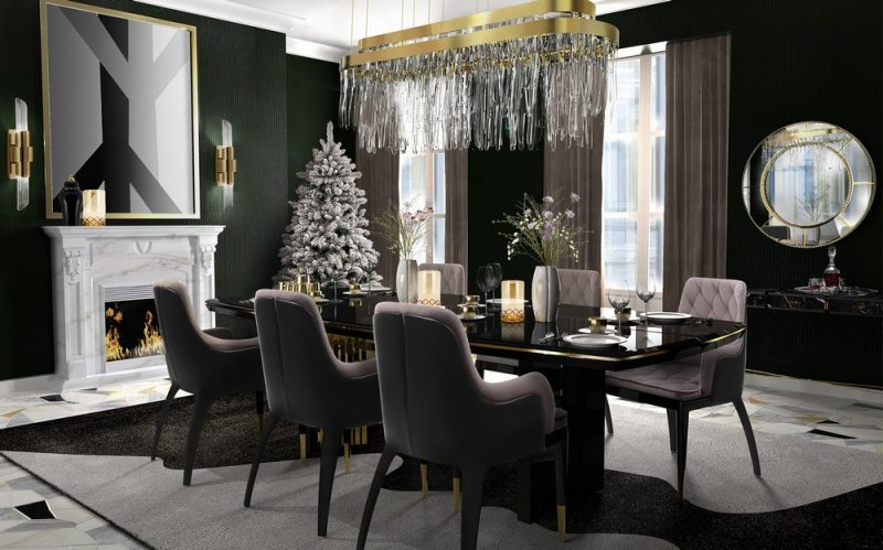 dining room Prepare Your Lavish Dining Room For The Christmas Season! Prepare Your Lavish Dining Room For The Christmas Season4 e1607963338346