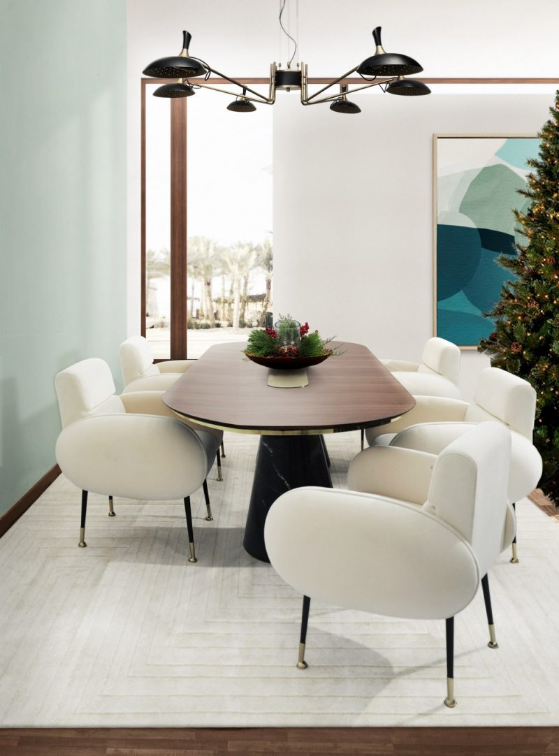 dining room Prepare Your Lavish Dining Room For The Christmas Season! Prepare Your Lavish Dining Room For The Christmas Season8 e1607963764410