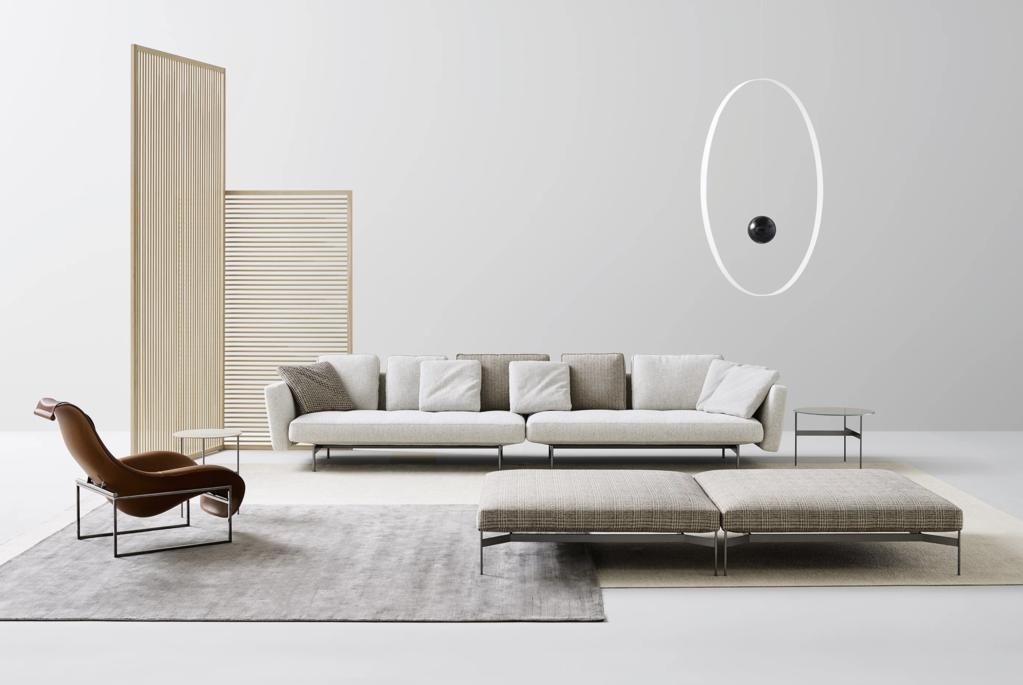 best interior designers Discover The 12 Best Interior Designers From Montreal! Avant Scene Piero Lissoni Sofa Sake BB ITALIA 1024x1024