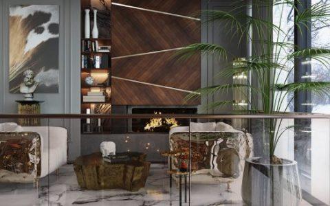modern classic villa Discover This 8.5 Million Modern Classic Villa By Covet House! Discover This 8