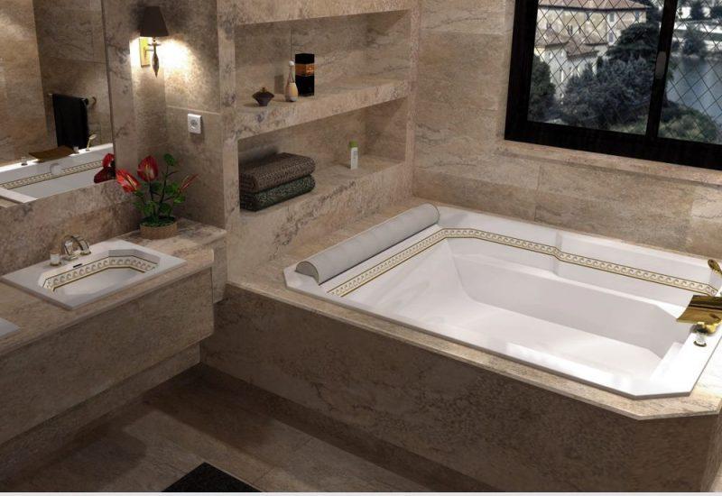 bathtubs Bathtubs: Improve Your Luxurious Bathroom Decor! Luxe bathtub Plaisance Duo 1 e1611238156479