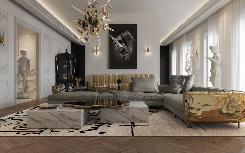 luxury penthouse Get The Look Of The Exquisite Rooms By This Parisian Luxury Penthouse Get The Look Of The Exquisite Rooms By This Parisian Luxury Penthouse9 1