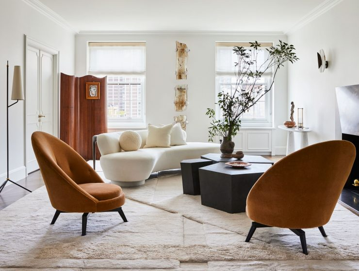manhattan apartment Step Inside This Manhattan Apartment Designed By Jeremiah Brent! Step Inside This Manhattan Apartment Designed By Jeremiah Brent 6 740x560