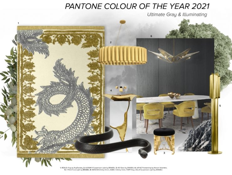 color of the year 2021 Color Of The Year 2021: Illuminating And Ultimate Grey On Luxurious Pieces Color Of The Year 2021 Illuminating And Ultimate Grey On Luxurious Pieces 2 740x560