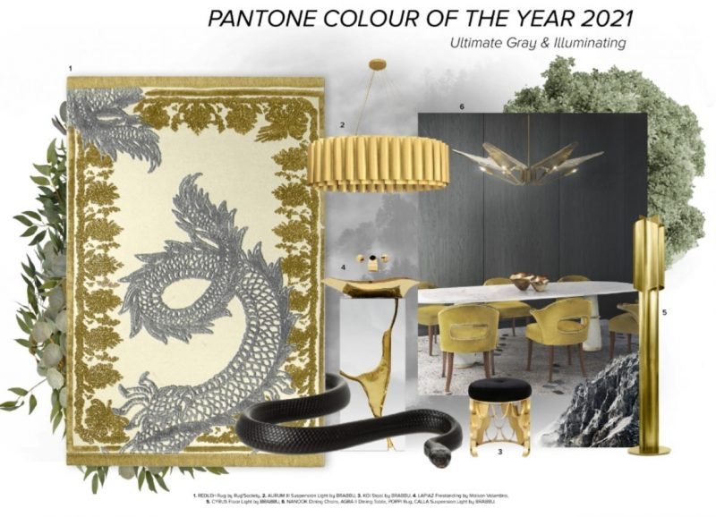 color of the year 2021 Color Of The Year 2021: Illuminating And Ultimate Grey On Luxurious Pieces Color Of The Year 2021 Illuminating And Ultimate Grey On Luxurious Pieces 2 e1615813259196