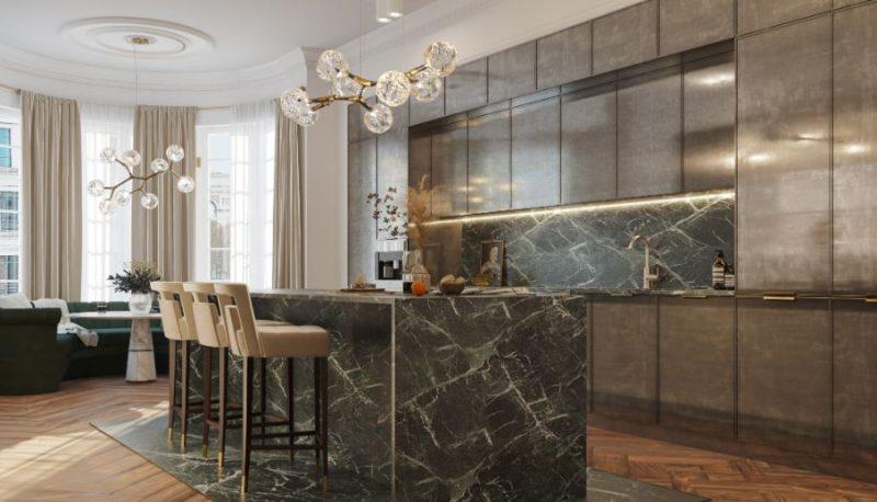 classic and contemporary Classic And Contemporary Design At This Eternel Parisian Apartment! Classic And Contemporary Design At This Eternel Parisian Apartment4 e1617708385130