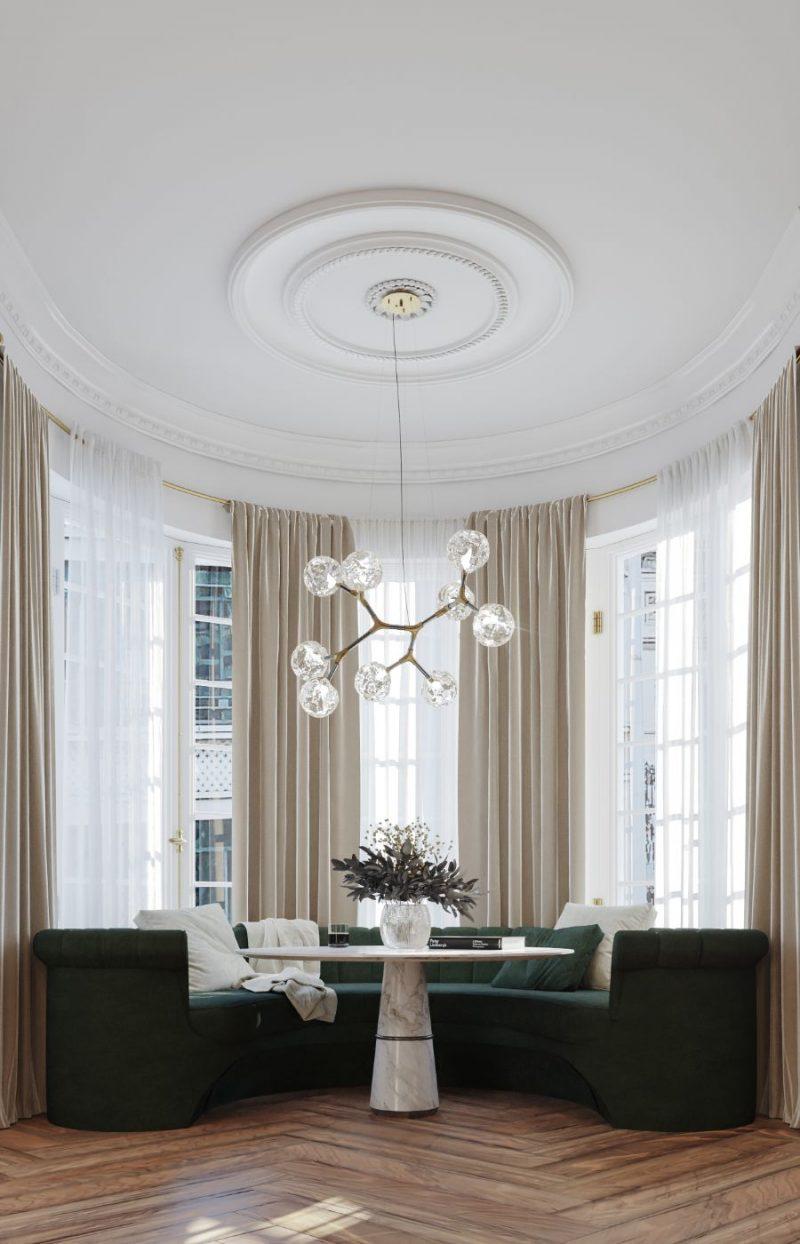 classic and contemporary Classic And Contemporary Design At This Eternel Parisian Apartment! Classic And Contemporary Design At This Eternel Parisian Apartment5 e1617708408722
