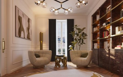 classic and contemporary Classic And Contemporary Design At This Eternel Parisian Apartment! Classic And Contemporary Design At This Eternel Parisian Apartment7 480x300