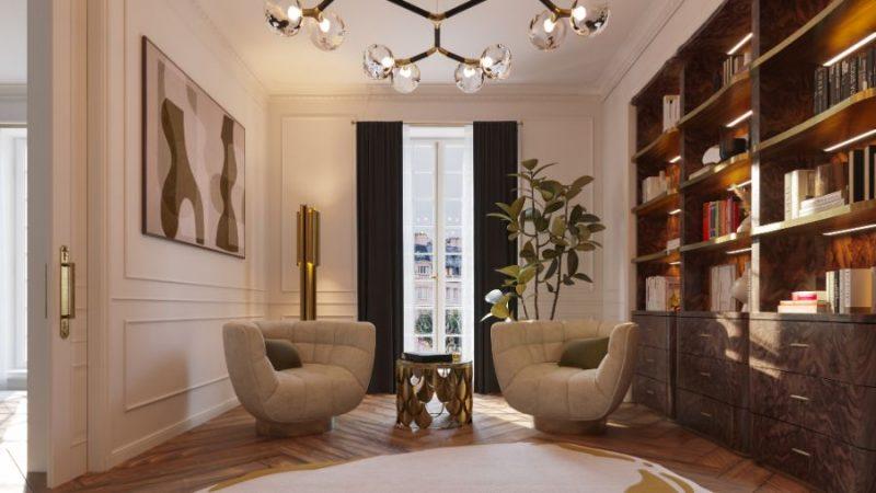 classic and contemporary Classic And Contemporary Design At This Eternel Parisian Apartment! Classic And Contemporary Design At This Eternel Parisian Apartment7 e1617708587108