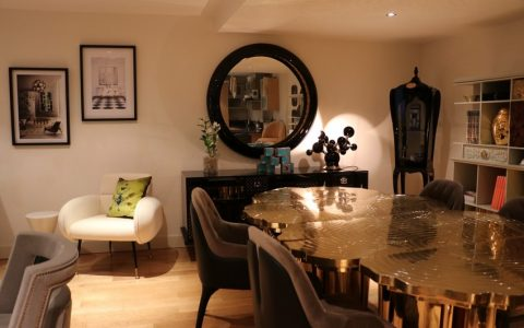 dining room Step Inside The Most Lavish Dining Room At This Amazing London Showroom! Step Inside The Most Lavish Dining Room At This Amazing London Showroom 480x300